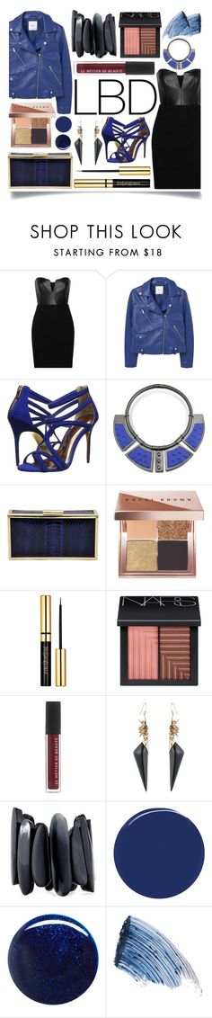 """""""Little Black Dress"""" by ittie-kittie ❤ liked on Polyvore featuring Mason by Michelle Mason, MANGO, Ted Baker, Avril 8790, La Regale, Bobbi Brown Cosmetics, NARS Cosmetics, Alexis Bittar, NEST Jewelry and RGB Cosmetics"""