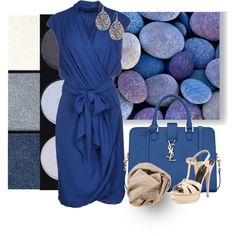 """Blue II"" by suzette-63 on Polyvore"