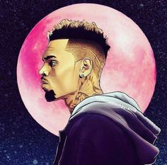 Tag At Chrisbrownofficial Maybe Hell Post This One And Tag Chris Brown Drawing, Chris Brown Art, Chris Brown Style, Breezy Chris Brown, Arte Hip Hop, Hip Hop Art, Chris Brown Wallpaper, Trill Art, Dope Cartoon Art