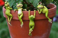 Frog Pot hangers