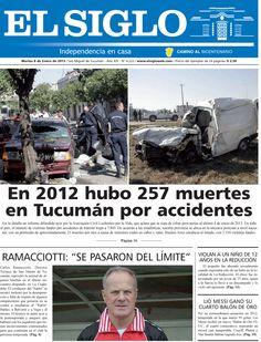 Diario El Siglo - Martes 8 de Enero de 20 13