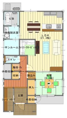 My House Plans, House Floor Plans, Entrance, Flooring, How To Plan, Space, Architecture, Interior, Room