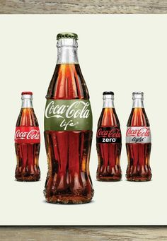Launched in Argentina, Coca-Cola Life is made with a mixture of sugar and stevia-based substitute, and contains two times less the calories than regular Coke.