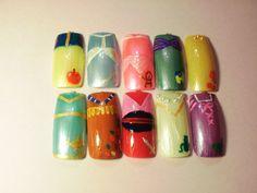 Snow white. Cinderella. Aurora. Ariel. Belle. Jasmine. Pocahontas. Mulan. Tiana. Rapunzel.