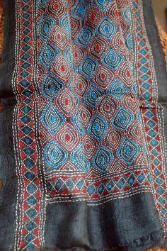 modern kantha embroidery - Google Search