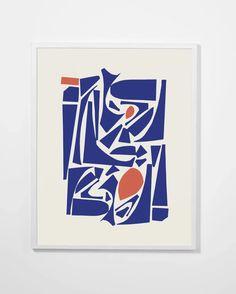 Mimimalist, a collage art print collection in organic shapes by designer Petra Kaksonen. Graffiti Wall, Art Abstrait, Modern Art Prints, Abstract Art, Abstract Designs, Minimalist Art, Custom Art, Illustration Art, Art Illustrations