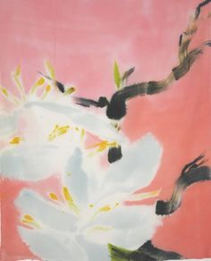 """Saatchi Art Artist Dorota Wójcik; Painting, """"blooming apple tree"""" #art"""
