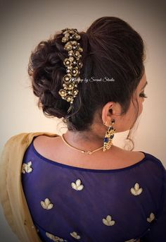 Bridal hochsteckfrisur for reception by Swank. Bridal hair with accesso. Bridal hochsteckfrisur for reception by . Bridal Hairstyle Indian Wedding, Bridal Hair Buns, Indian Wedding Hairstyles, Short Wedding Hair, Bridal Updo, Bride Hairstyles, Hairstyles Haircuts, Straight Hairstyles, Cool Hairstyles