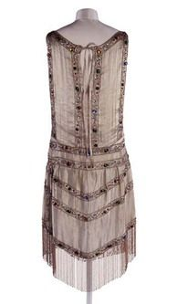 Evening dress Production Date: 1923-1925 | Museum of London