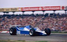 Jacques Laffite, Ligier-Ford JS11/15, 1980 German GP, Hockenheimring