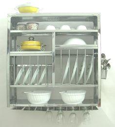 wall mount dish drying rack, $185                                                                                                                                                      More