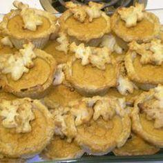 Mini Sweet Potato Pies Allrecipes.com