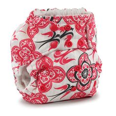 The Rumparooz One Size Cloth Diapers are designed to grow with your baby. The outer layer of the diaper is waterproof and comes in 16 fun colors and patterns, like Owls, Robots and Destiny (pictured). ($24, kangacare.com)