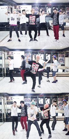B.A.P releases rehearsal photos for 'M! Countdown Smile Thailand' concert