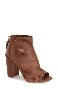 Steven by Steve Madden 'Foxxi' Peep Toe Bootie (Women) available at #Nordstrom