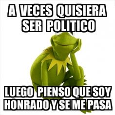 Memegenerator Kermit the frog - Crear meme Kermit the frog - Hacer meme de Kermit the frog