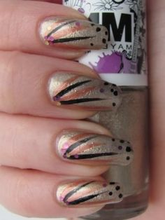 New Party Season Nail Art Ideas - Adorn your look with a glamorous manicure using these new party season nail art ideas as the perfect inspiration. Juggle with the hottest shades that guarantee your place in the spotlight.