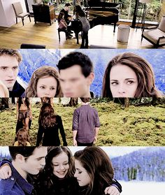 differences between breaking dawn the book In twilight, edward meets bella swan, a human girl whose thoughts he is unable to read, and whose blood smells overwhelmingly sweet to him he fights a growing attraction to her, but after saving her life on several occasions, he succumbs and.