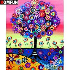 Tree Painting - Tree Of Life by Pristine Cartera Turkus Tree Of Life Painting by Pristine Cartera Turkus Art Amour, Tree Of Life Painting, Tree Of Life Artwork, Artwork Wall, Art Fantaisiste, Inspiration Art, 5d Diamond Painting, Mexican Folk Art, Naive Art