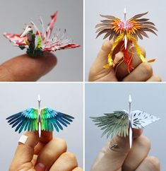 Design Origami, Instruções Origami, Origami Paper Crane, Origami Artist, Origami Star Box, Origami Fish, Origami Love, Paper Cranes, Origami Folding