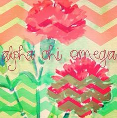 Alpha Chi Omega: Love this!!