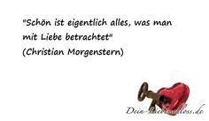 Nettes Zitat von dem deutschen Dichter Christian Morgenstern