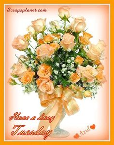 Flowers-for-you-on-busy-tuesday.gif (430×550)