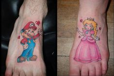 Love this!!  Husband/Wife tattoos!!