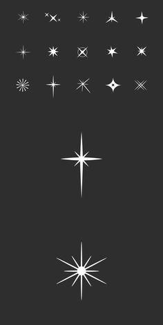 15 Glitzer-Symbole - 15 Sparkle Light Icons – – - old school frases hombres hombres brazo ideas impresionantes japoneses pequeños tattoo Mini Tattoos, New Tattoos, Body Art Tattoos, Small Tattoos, Tatoos, Best Star Tattoos, Small Finger Tattoos, Tattoos Skull, Animal Tattoos