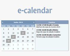 e-calendar – jQuery Plugin for Creating Event Calendar  #jQuery #calendar #eventcalendar #date #event