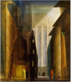 Lyonel Feininger, oil on canvas