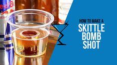 Skittle Bomb Shot #cocktails #shots #skittlebombshot #thelibationreport http://www.drinklab.org/skittle-bomb-shot/