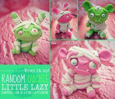 Random OUCHIE Little Lazy por LittleLazies en Etsy, $18.00