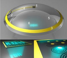 3. Cybernetic Contact Lenses
