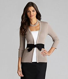 Black, tan and a frost of white.make up this fine look! Timeless Fashion, Love Fashion, Fashion 2014, Pretty Outfits, Cute Outfits, Work Outfits, Modest Fashion, Fashion Outfits, Color Combinations For Clothes