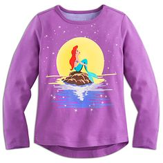 The Little Mermaid Long Sleeve Tee for Girls | Disney Store