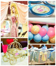 Glamorous Princess 5th Birthday Party via Kara's Party Ideas KarasPartyIdeas.com The Place for ALL THINGS PARTY! #princessparty #princesspartyideas #princesspartysupplies