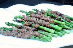 korean beef wrapped asparagus - Against All Grain (Danielle Walker) Steak Wraps, Beef Wraps, Against All Grain, Paleo Recipes, Whole Food Recipes, Korean Recipes, Paleo Meals, Paleo Diet, Clean Eating Recipes