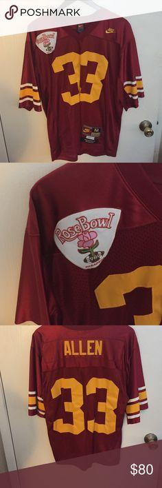 Nike Marcus Allen USC jersey size medium USC men's Marcus Allen jersey! Size medium. Rose bowl patch! Nike! Shirts
