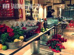 Presentación de nuevo modelo de sneakers / Introducing new model sneakers by Sarova Catering #catering #eventos #gastronomia