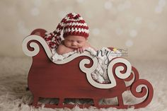 Sleigh Prop - Newborn Photography Props