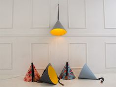 Lighting Shade inspired by the way in which our clothing changes between the seasons
