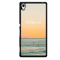 Caifornia Beach TATUM-2216 Sony Phonecase Cover For Xperia Z1, Xperia Z2, Xperia Z3, Xperia Z4, Xperia Z5