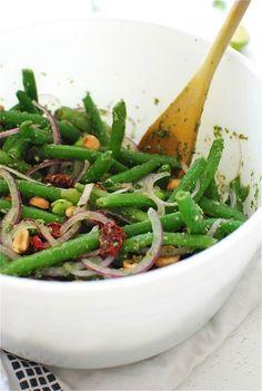 Thai Three-Bean Salad  / Bev Cooks