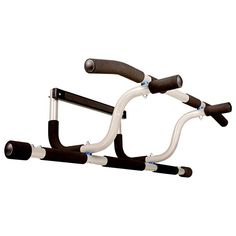 55f654ef881 Ultimate Body Press XL Doorway Pull Up Bar with Elevated Bar   Adjustable  Width Review Doorway
