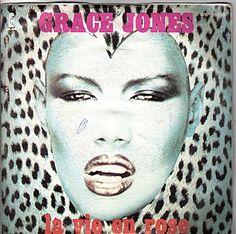 Grace Jones 'La Vie En Rose' Record Cover