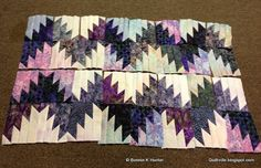 "Quiltville Bonnie Hunter's ""Scrappy Mountain Majesties"""