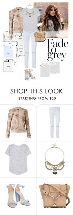 """""""Fade Out"""" by lisalockhart ❤ liked on Polyvore featuring Miss Selfridge, Rebecca Minkoff, rag & bone, Sole Society and Alexander Wang"""