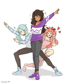 """1,861 Likes, 28 Comments - @LadyU. (@ladyuniquecorn) on Instagram: """"An Epic pose from My street season 1 Aphmau (o^▽^o) ♡♡♡ . I use draw the squad as reference…"""""""
