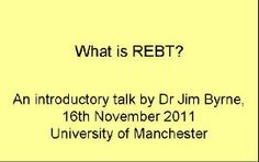 What is REBT?